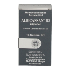 Albicansan® D3 Suppositorien