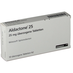 Aldactone 25 Dragees