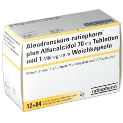 ALENDRON ratiopharm plus Alfacalcidol 12T+84K