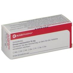 Alendronsäure AL 70 mg Tabletten