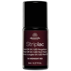 alessandro Striplac Nagellack 54 Midnight Red