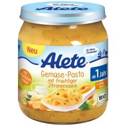 Alete® Gemüse-Pasta mit fruchtiger Zitronensauce