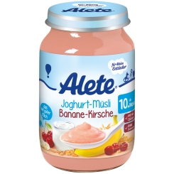 Alete® Joghurt-Müsli Banane-Kirsche