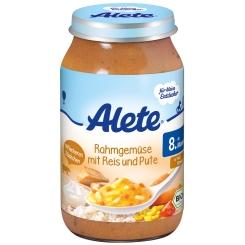 Alete® Rahmgemüse mit Reis & Pute