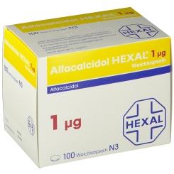 ALFACALCIDOL HEXAL 1 µg Weichkapseln