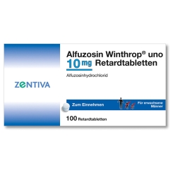 Alfuzosin Winthrop Uno 10 mg Retardtabletten