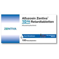 ALFUZOSIN Zentiva 10 mg Retardtabletten