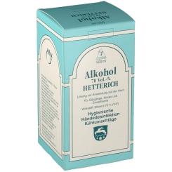 Alkohol 70 Vol. % Hetterich Flüssigkeit
