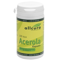 allcura Acerola-Kapseln