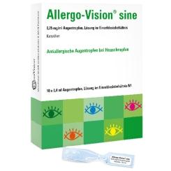 Allergo-Vision® sine 0,25 mg/ml Augentropfen