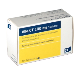 Allo-CT 100 mg Tabletten