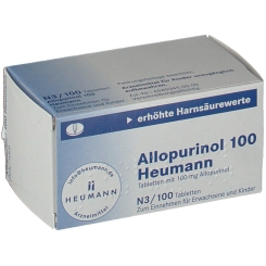 Allopurinol 100 Heumann Tabletten
