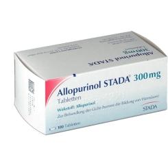 Allopurinol Stada 300 Tabletten