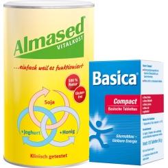 Almased + Basica Compact Set