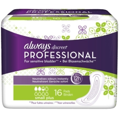 always discreet Professional small plus