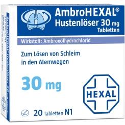 AmbroHEXAL® Hustenlöser 30 mg Tabletten