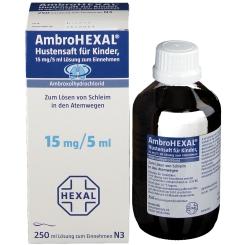 AmbroHEXAL® Hustensaft für Kinder