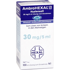 AmbroHEXAL® S Hustensaft 30 mg/5 ml