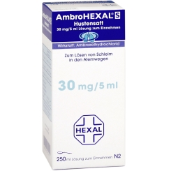 AmbroHEXAL® S Hustensaft 30 mg/5 ml