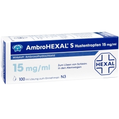 AmbroHEXAL® S Hustentropfen 15 mg/ml