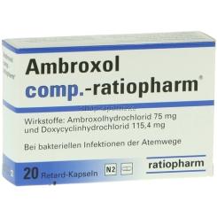 Ambroxol comp. ratiopharm Retardkaps.