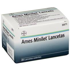 Ames Minilet Lancets Glucolet Combi Lanzetten