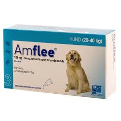 Amflee® 268 mg Lösung zum Auftropfen für große Hunde