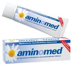 aminomed® Fluorid Kamille Zahnpaste