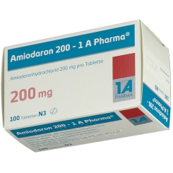 Amiodaron 200 1a Pharma Tabletten