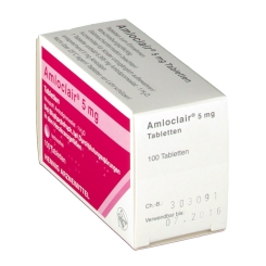 AMLOCLAIR 5 mg Tabletten