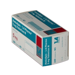 Amlodipin 1 A Pharma 5 mg N Tabletten