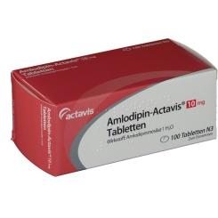 AMLODIPIN Actavis 10 mg