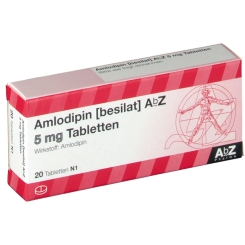 AMLODIPIN besilat AbZ 5 mg Tabletten