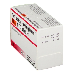 Amlodipin Ratiopharm 10 mg N Tabletten