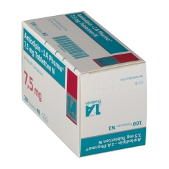 Amlopidin 1 A Pharma 7,5 mg N Tabletten