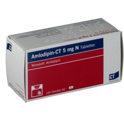 Amlopidin - CT 5 mg N Tabletten