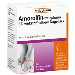 Amorolfin-ratiopharm® 5 % wirkstoffhaltiger Nagellack
