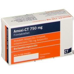 Amoxi- Ct 750 mg Filmtabletten