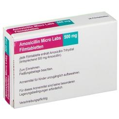 AMOXICILLIN Micro Labs 500 mg Filmtabletten