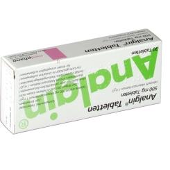 Analgin Tabletten