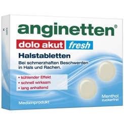 anginetten® dolo akut fresh Halstabletten