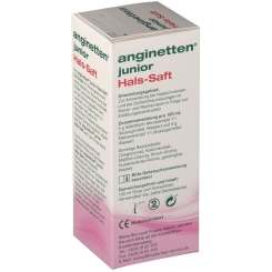 anginetten® junior Hals-Saft
