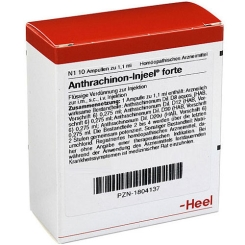 Anthrachinon Injeele forte 1,1 ml