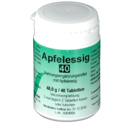 Apfelessig Tabletten