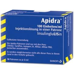 APIDRA 100 E/ml Patrone