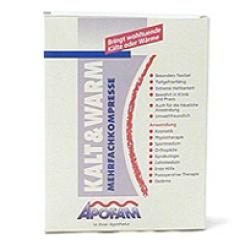 Apofam® Kalt & Warm Mehrfachkompresse 13 x 14 cm