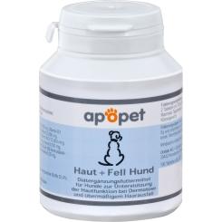 apopet® Haut + Fell Hund Tabletten