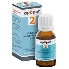 apopet® Schüßler-Salz Nr.2 Calcium phosphoricum D12 vet.