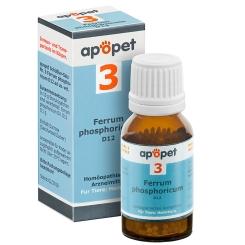 apopet® Schüßler-Salz Nr.3 Ferrum phosphoricum D12 vet.