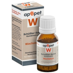 apopet® Schüßler-Salze-Kombination W ad us.vet.
